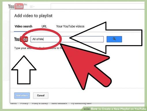 Playlist on YouTube