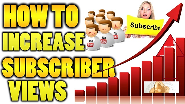 how to boost youtube subscribers
